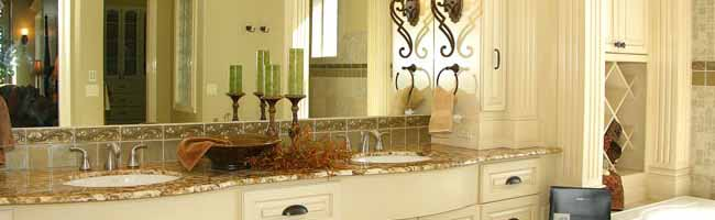 Custom luxury bathroom in custom boise meridian eagle idaho home